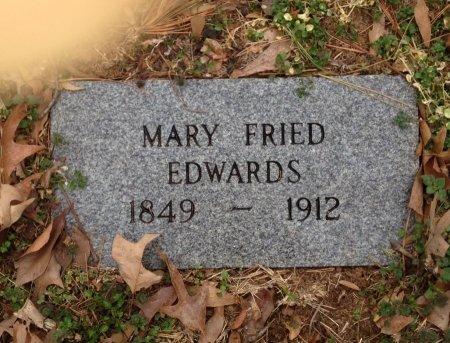 EDWARDS, MARY - Polk County, Arkansas | MARY EDWARDS - Arkansas Gravestone Photos