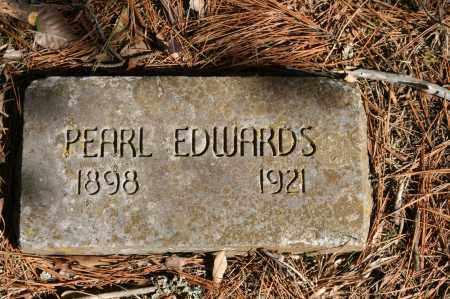EDWARDS, PEARL - Polk County, Arkansas | PEARL EDWARDS - Arkansas Gravestone Photos