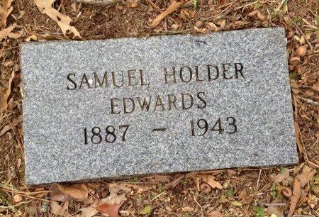 EDWARDS, SAMUEL HOLDER - Polk County, Arkansas   SAMUEL HOLDER EDWARDS - Arkansas Gravestone Photos