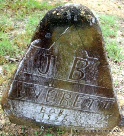 EVERETT, J B - Polk County, Arkansas | J B EVERETT - Arkansas Gravestone Photos