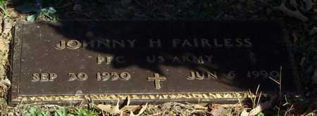 FAIRLESS (VETERAN ), JOHNNY H - Polk County, Arkansas | JOHNNY H FAIRLESS (VETERAN ) - Arkansas Gravestone Photos