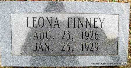 FINNEY, LEONA - Polk County, Arkansas | LEONA FINNEY - Arkansas Gravestone Photos