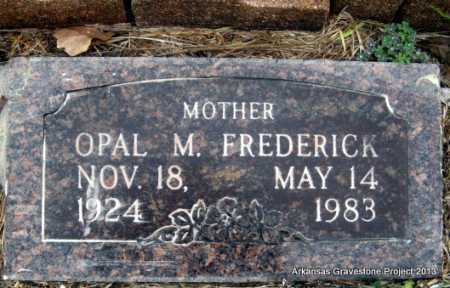 KEITHLEY FREDERICK, OPAL M - Polk County, Arkansas | OPAL M KEITHLEY FREDERICK - Arkansas Gravestone Photos
