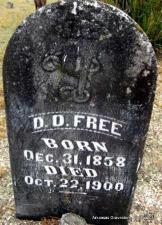 FREE, D D - Polk County, Arkansas | D D FREE - Arkansas Gravestone Photos