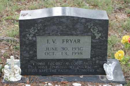 FRYAR, I.V. - Polk County, Arkansas   I.V. FRYAR - Arkansas Gravestone Photos