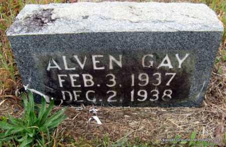GAY, ALVEN - Polk County, Arkansas | ALVEN GAY - Arkansas Gravestone Photos