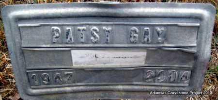 GAY, PATSY L - Polk County, Arkansas | PATSY L GAY - Arkansas Gravestone Photos