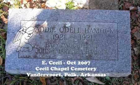 HAMOCK, ADDIE ODELL - Polk County, Arkansas | ADDIE ODELL HAMOCK - Arkansas Gravestone Photos