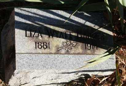 WYATT HARPER, LIZA - Polk County, Arkansas | LIZA WYATT HARPER - Arkansas Gravestone Photos