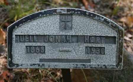 HART, HUELL JONAH - Polk County, Arkansas | HUELL JONAH HART - Arkansas Gravestone Photos