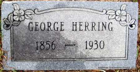 HERRING, GEORGE WASHINGTON - Polk County, Arkansas | GEORGE WASHINGTON HERRING - Arkansas Gravestone Photos