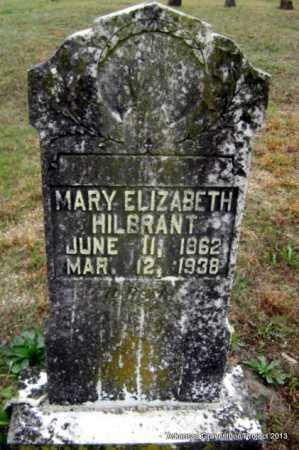 SPILLMAN HILBRANT, MARY ELIZABETH - Polk County, Arkansas | MARY ELIZABETH SPILLMAN HILBRANT - Arkansas Gravestone Photos