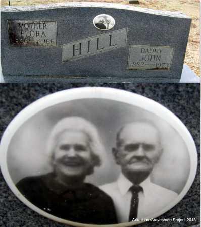 HILL, JOHN DANIEL - Polk County, Arkansas | JOHN DANIEL HILL - Arkansas Gravestone Photos