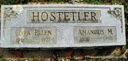 HOSTETLER, CORA ELLEN - Polk County, Arkansas | CORA ELLEN HOSTETLER - Arkansas Gravestone Photos