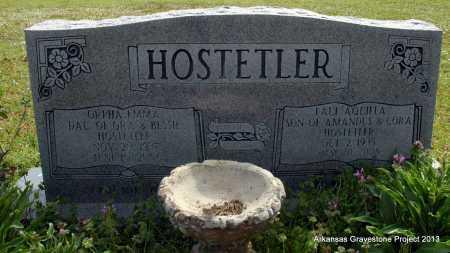 HOSTETLER, ORPHA EMMA - Polk County, Arkansas | ORPHA EMMA HOSTETLER - Arkansas Gravestone Photos