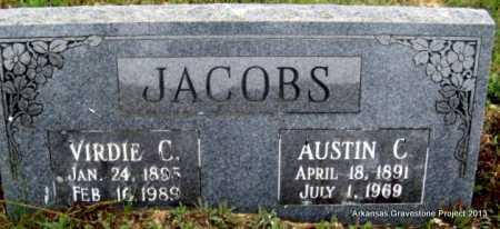 JACOBS, AUSTIN CARROLL - Polk County, Arkansas | AUSTIN CARROLL JACOBS - Arkansas Gravestone Photos