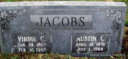 "BRYANT JACOBS, ALVIRDIE ""VIRDIE"" CLARENDA - Polk County, Arkansas | ALVIRDIE ""VIRDIE"" CLARENDA BRYANT JACOBS - Arkansas Gravestone Photos"