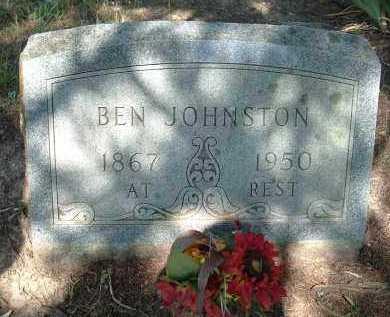 JOHNSTON, BEN - Polk County, Arkansas | BEN JOHNSTON - Arkansas Gravestone Photos