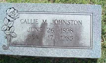 JOHNSTON, CALLIE M. - Polk County, Arkansas | CALLIE M. JOHNSTON - Arkansas Gravestone Photos