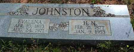 JOHNSTON, MARTHA EVALENA - Polk County, Arkansas | MARTHA EVALENA JOHNSTON - Arkansas Gravestone Photos
