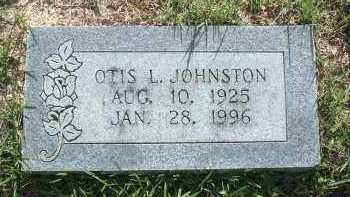 JOHNSTON, OTIS L - Polk County, Arkansas | OTIS L JOHNSTON - Arkansas Gravestone Photos