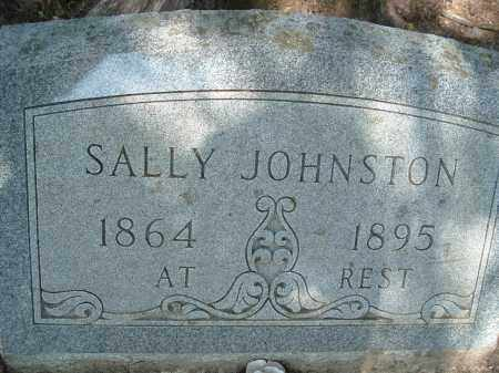 JOHNSTON, SALLY - Polk County, Arkansas | SALLY JOHNSTON - Arkansas Gravestone Photos