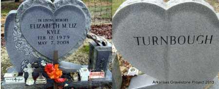 """KYLE, ELIZABETH M """"LIZ"""" - Polk County, Arkansas   ELIZABETH M """"LIZ"""" KYLE - Arkansas Gravestone Photos"""