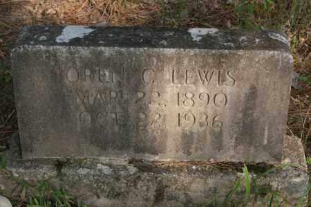 LEWIS, OREN C. - Polk County, Arkansas   OREN C. LEWIS - Arkansas Gravestone Photos
