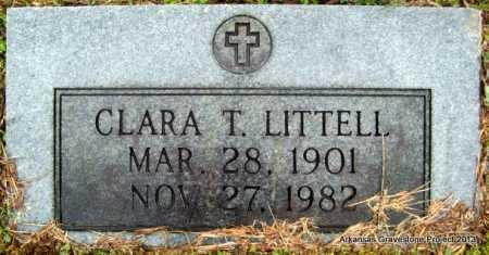 HAMRE LITTELL, CLARA THERESA - Polk County, Arkansas | CLARA THERESA HAMRE LITTELL - Arkansas Gravestone Photos
