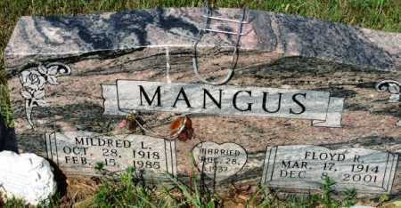 MANGUS, FLOYD R. - Polk County, Arkansas | FLOYD R. MANGUS - Arkansas Gravestone Photos