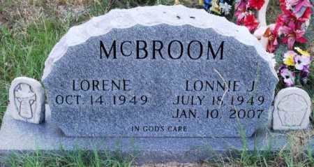 MCBROOM, LONNIE J. - Polk County, Arkansas | LONNIE J. MCBROOM - Arkansas Gravestone Photos