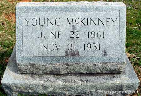 MCKINNEY, YOUNG - Polk County, Arkansas | YOUNG MCKINNEY - Arkansas Gravestone Photos