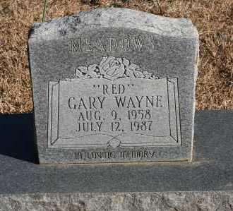 "MEADOWS, GARY WAYNE ""RED"" - Polk County, Arkansas   GARY WAYNE ""RED"" MEADOWS - Arkansas Gravestone Photos"