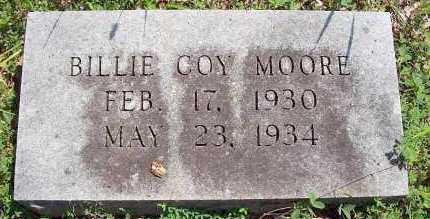 MOORE, BILLIE COY - Polk County, Arkansas   BILLIE COY MOORE - Arkansas Gravestone Photos