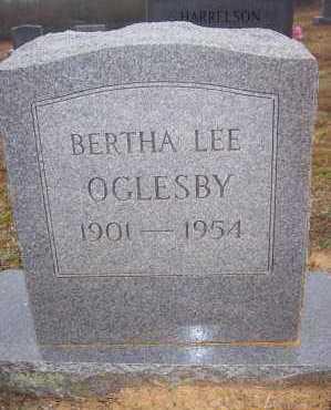 OGLESBY, BERTHA LEE - Polk County, Arkansas | BERTHA LEE OGLESBY - Arkansas Gravestone Photos