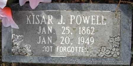 POWELL, KISAR J - Polk County, Arkansas   KISAR J POWELL - Arkansas Gravestone Photos