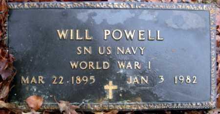 "POWELL (VETERAN WWI), WILLIAM ""WILL"" OLIVER - Polk County, Arkansas | WILLIAM ""WILL"" OLIVER POWELL (VETERAN WWI) - Arkansas Gravestone Photos"