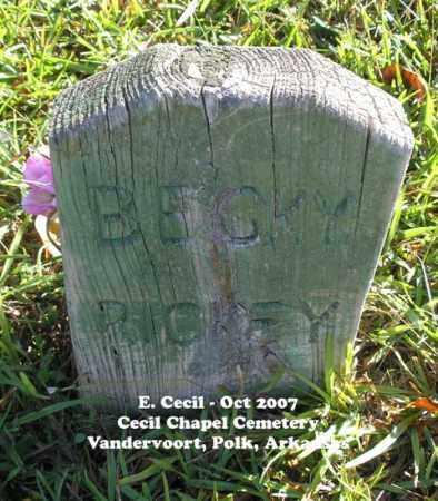 "RICKEY, REBECCA ""BECKY"" - Polk County, Arkansas | REBECCA ""BECKY"" RICKEY - Arkansas Gravestone Photos"