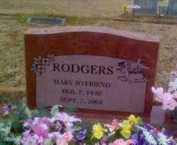 RODGERS, MARY JO - Polk County, Arkansas | MARY JO RODGERS - Arkansas Gravestone Photos