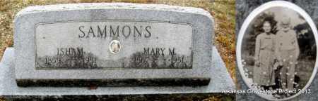 SAMMONS, ISHAM LAMUEL - Polk County, Arkansas | ISHAM LAMUEL SAMMONS - Arkansas Gravestone Photos