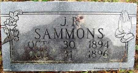 SAMMONS, J R - Polk County, Arkansas | J R SAMMONS - Arkansas Gravestone Photos