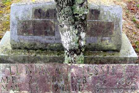 JACOBS SANDERS, LUNDA A - Polk County, Arkansas | LUNDA A JACOBS SANDERS - Arkansas Gravestone Photos