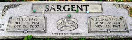SARGENT, EULA FAYE - Polk County, Arkansas | EULA FAYE SARGENT - Arkansas Gravestone Photos