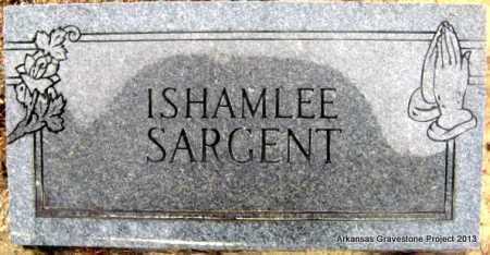 SARGENT, ISHAMLEE - Polk County, Arkansas   ISHAMLEE SARGENT - Arkansas Gravestone Photos