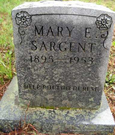 SARGENT, MARY ELLINGTON - Polk County, Arkansas | MARY ELLINGTON SARGENT - Arkansas Gravestone Photos