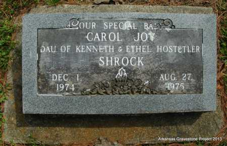 SHROCK, CAROL JOY - Polk County, Arkansas | CAROL JOY SHROCK - Arkansas Gravestone Photos