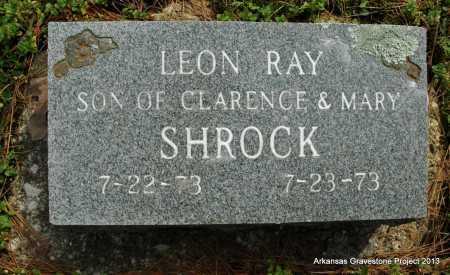 SHROCK, LEON RAY - Polk County, Arkansas | LEON RAY SHROCK - Arkansas Gravestone Photos