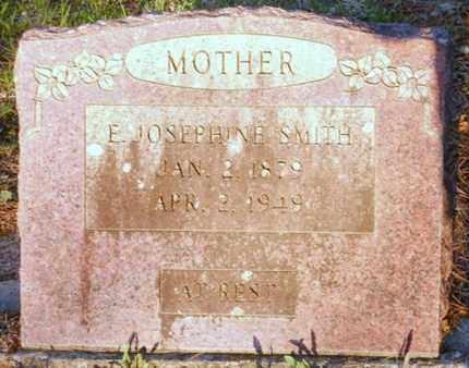 SMITH, E JOSEPHINE - Polk County, Arkansas | E JOSEPHINE SMITH - Arkansas Gravestone Photos