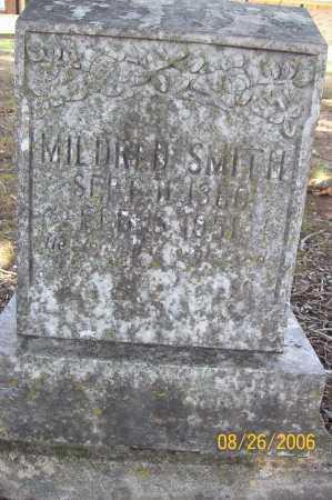 SMITH, MILDRED - Polk County, Arkansas   MILDRED SMITH - Arkansas Gravestone Photos
