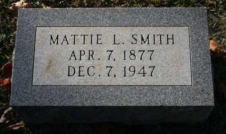 SMITH, MATTIE L - Polk County, Arkansas | MATTIE L SMITH - Arkansas Gravestone Photos